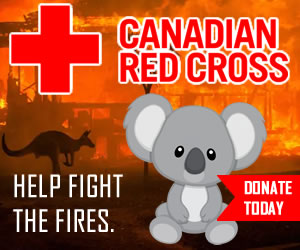Please give generously to the Canadian Red Cross Australian Fires Relief Fund