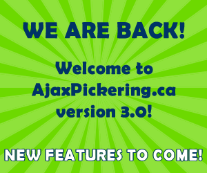 AjaxPickering.ca is back and ready to serve